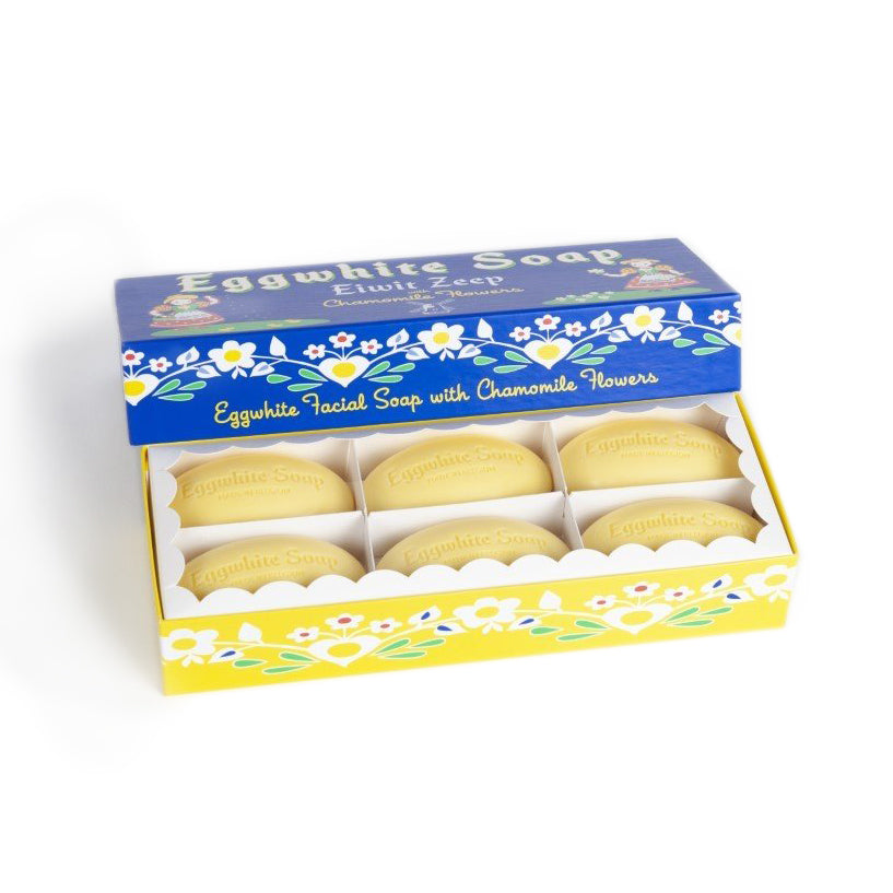Eggwhite And Chamomile Flower 6 Bar Gift Set