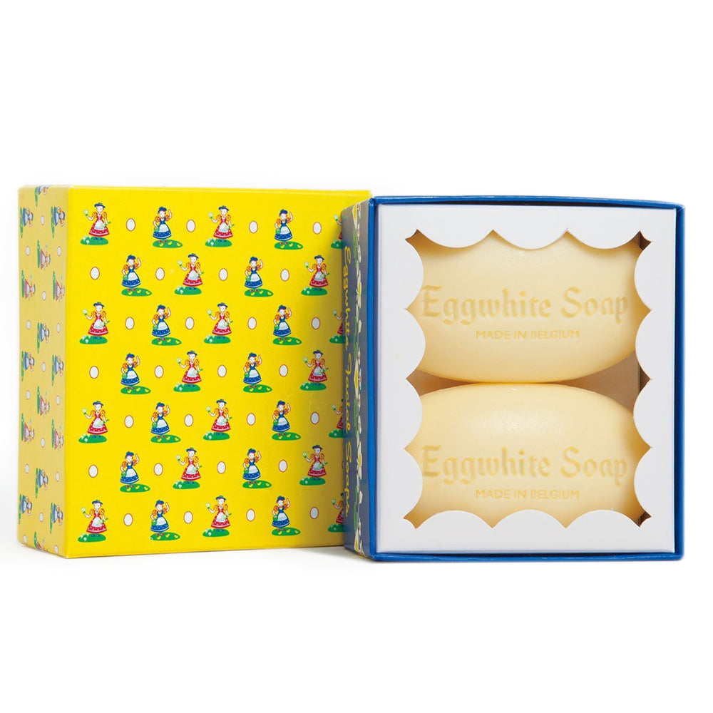 Eggwhite Facial Soap 2 bar Gift Box