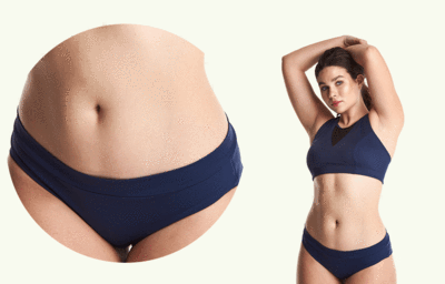 Regular Bikini Bottoms - Navy-deakinandblue-superbulky
