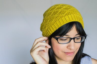 Kakano Hat Knitting pattern by Francoise Danoy-Independent Designer-superbulky