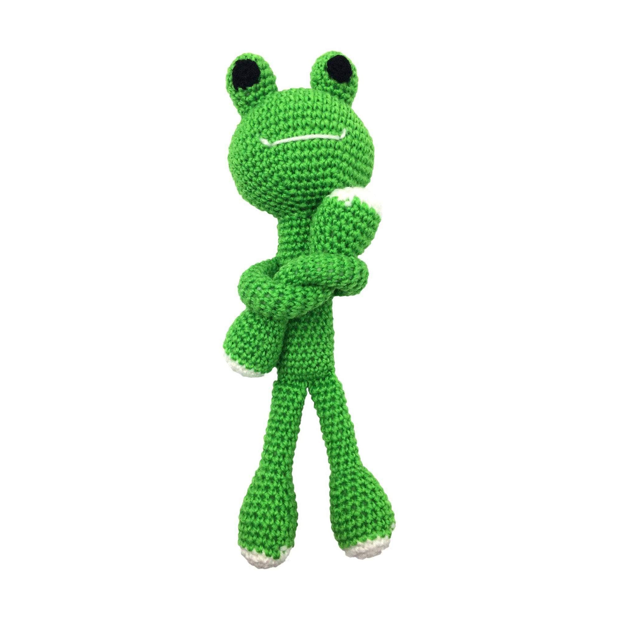 DIY FROG AMIGURUMI KNIT & CROCHET STARTER KIT-Darn Good Yarn-superbulky