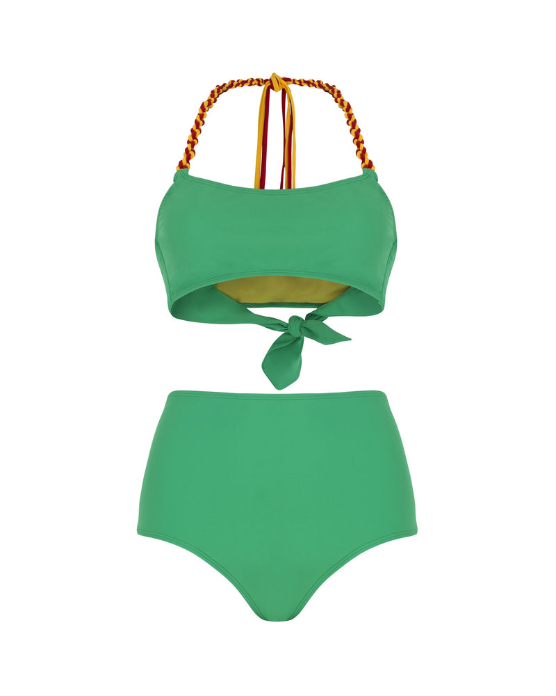 Paper London ethical swimwear - Sunshine Bikini Top Carvico Swim-paperlondon-superbulky