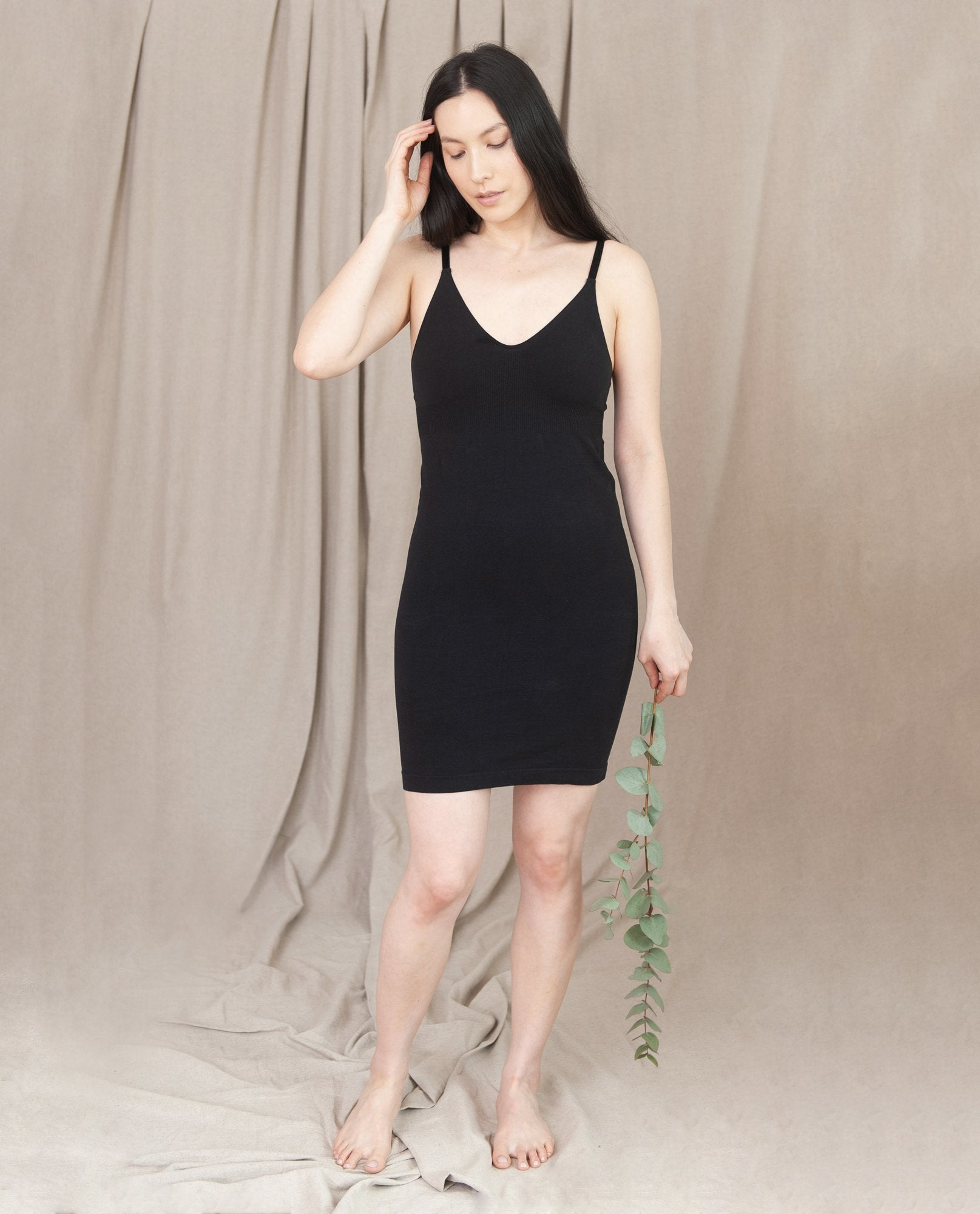 LANA Organic Cotton Slip In Black-beaumontorganic-superbulky