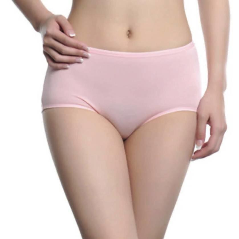 Ethical underwear pink womens bamboo underwear-Floripawear-superbulky