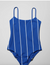 Sun Striped Swimsuit - Blue - Swimwear - Weekday GB-weekday-superbulky