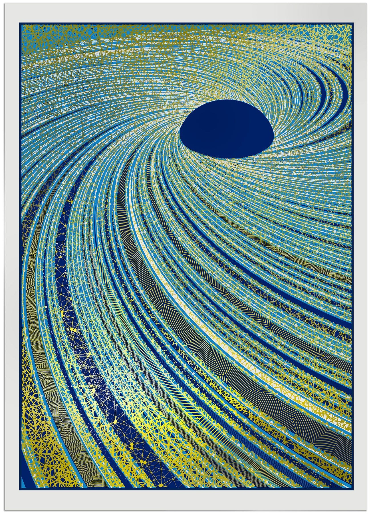 Singularity screen print - Chris Keegan