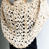 Silk Garter + Lace Summer Cocoon Coat Knit Kit-Darn Good Yarn-superbulky