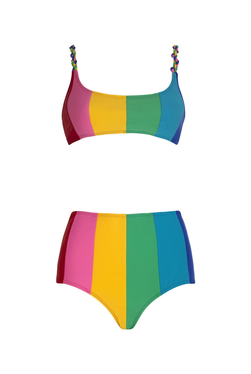 Paper London ethical swimwear - Sunshine Bikini Bottom Carvico-paperlondon-superbulky