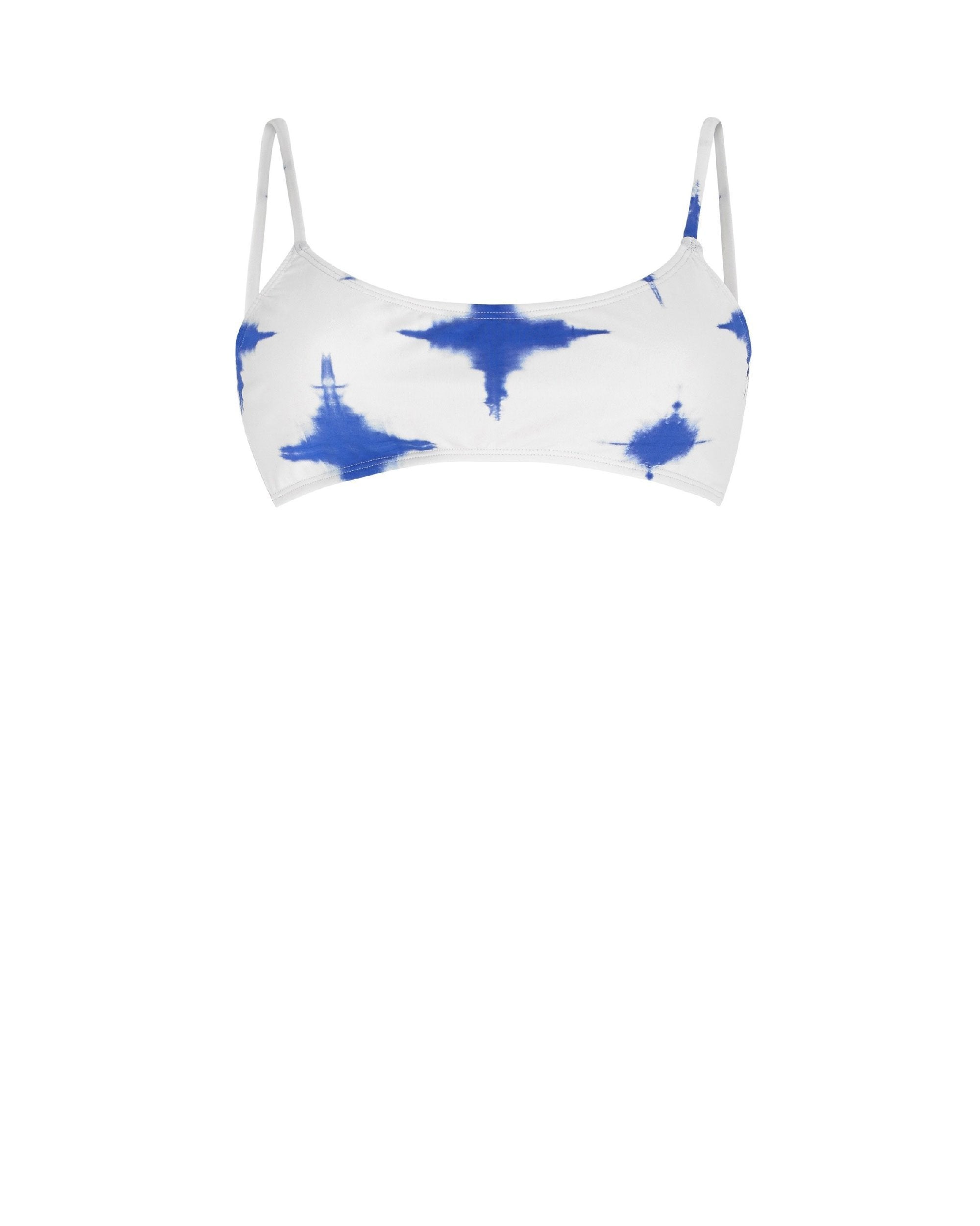 Paper London ethical swimwear - Sunshine Bikini Top Printed Swim-paperlondon-superbulky