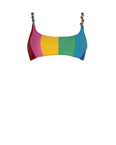 Paper London ethical swimwear - Sunshine Bikini Top Carvico-paperlondon-superbulky
