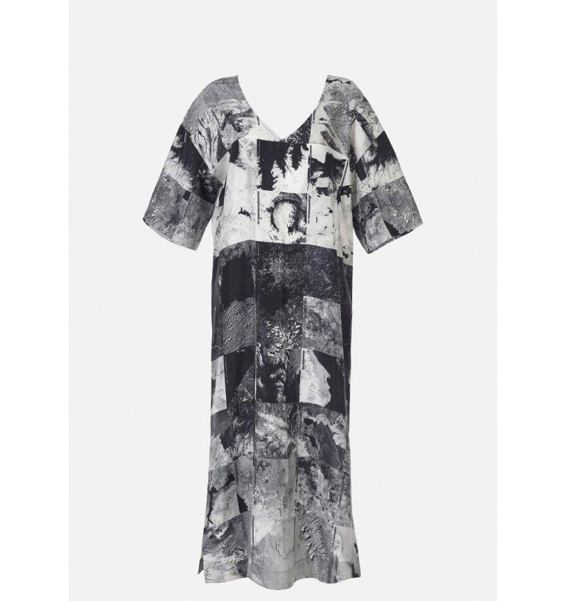 Womens Silk NASA Dress-Raeburn Design-superbulky