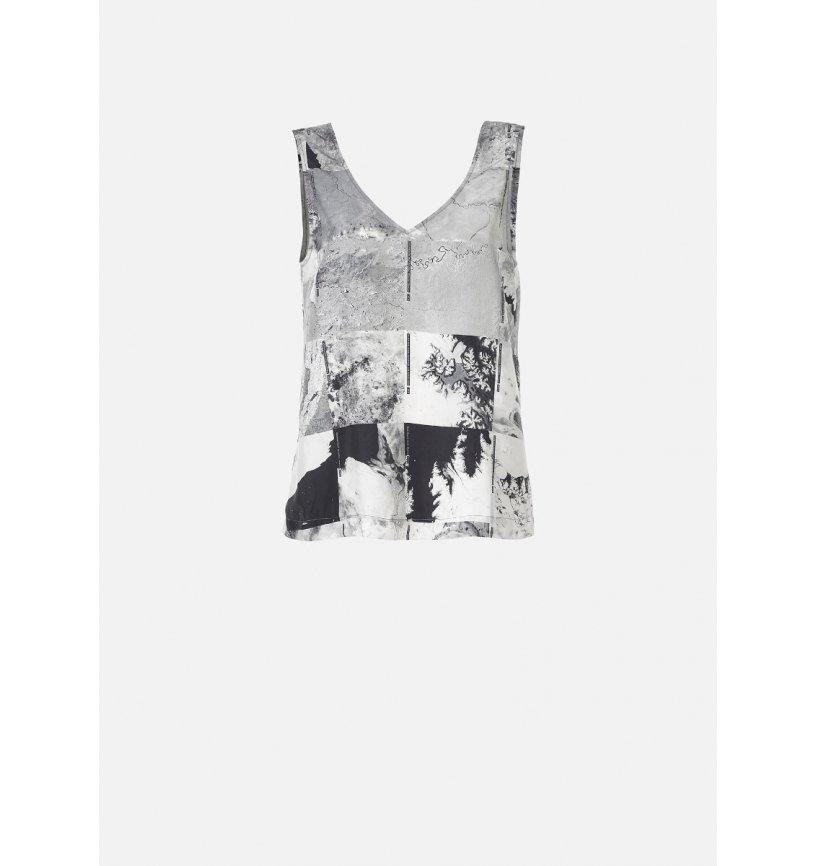Womens Silk NASA Vest-Raeburn Design-superbulky