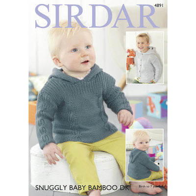 Sirdar 4891 Sweater and Jacket PDF
