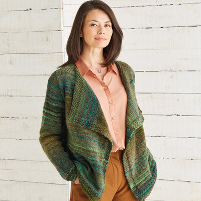 Sirdar 10025 Jacket in Jewelspun PDF