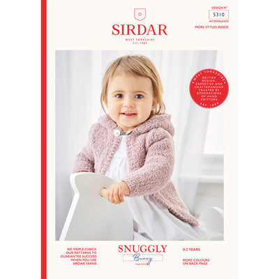 Sirdar 5310 Hooded and Round Neck Jacket PDF