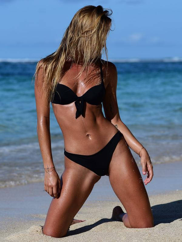 Push-Up Bikini Top - Black-co-superbulky