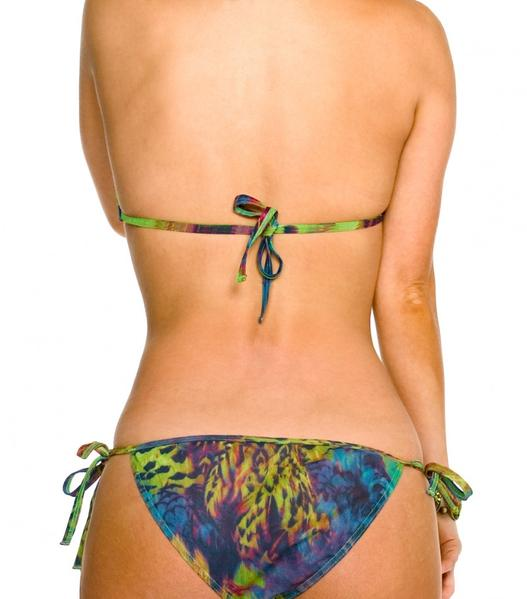 Amalfi Tan Through Micro Tie Side Bikini Tanga