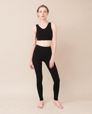 LISA Bamboo Leggings In Black-beaumontorganic-superbulky