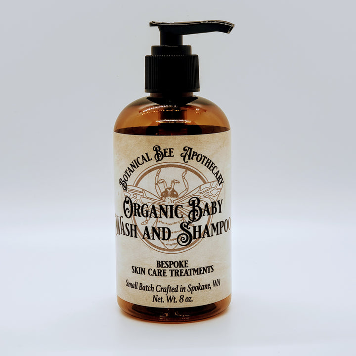 Organic Baby Wash and Shampoo