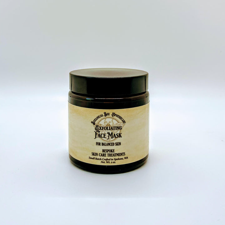 Exfoliating Facial Polish and Mask for Dry or Mature skin