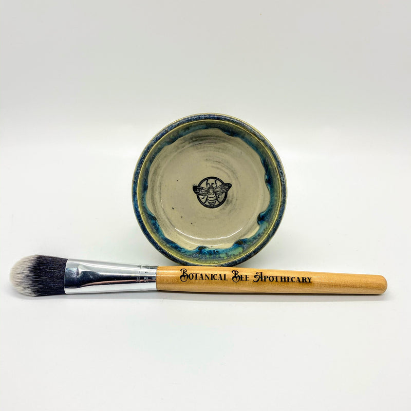 Mask Bowl and Brush Set
