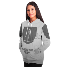 Load image into Gallery viewer, Mandalorian Weapons Are My Religion Silver  Premium Hoodie