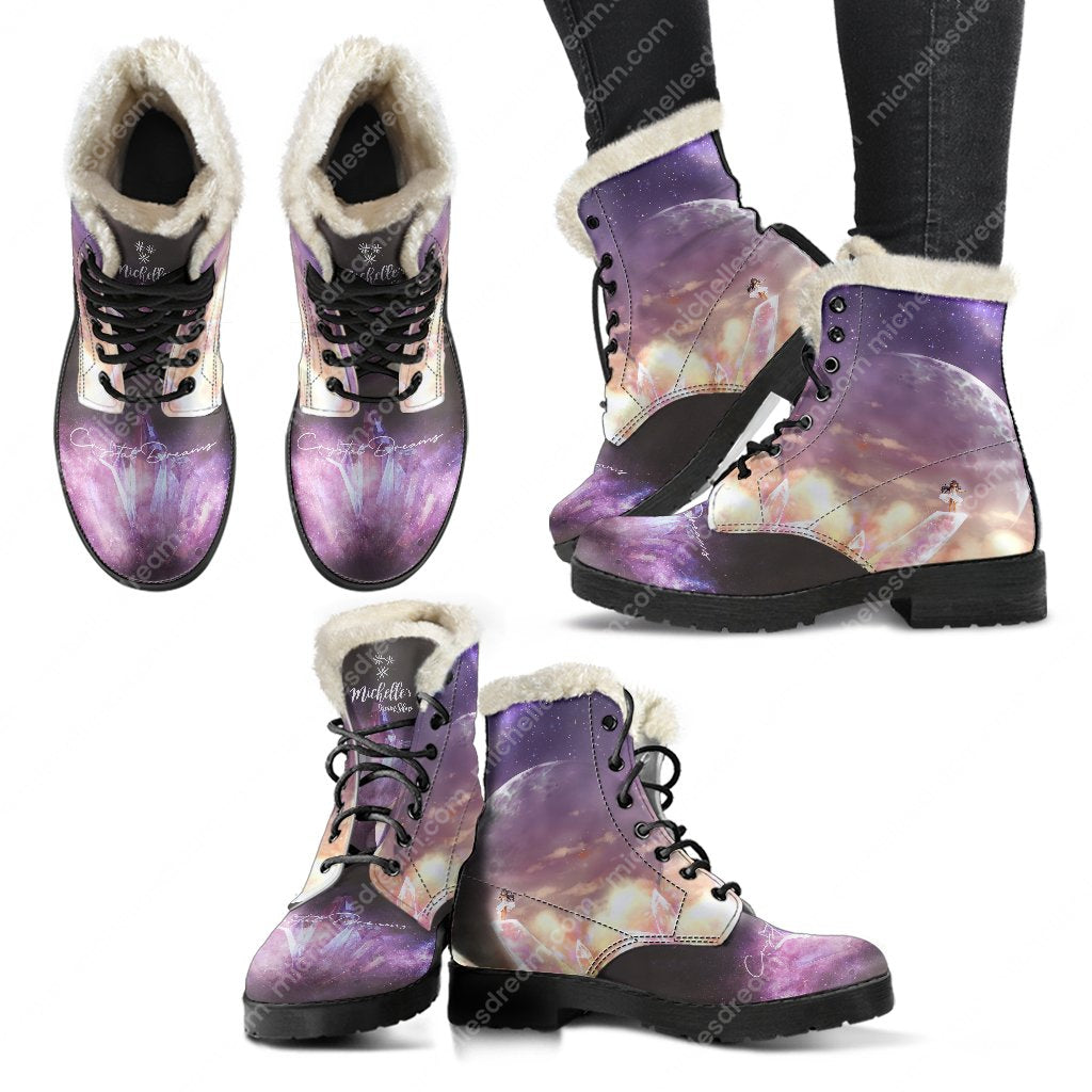 Crystal Dreams Comfy Boots