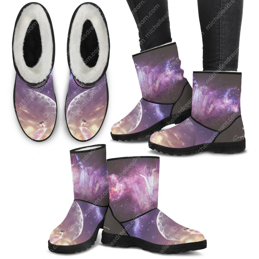 Crystal Dreams Cozy Boots