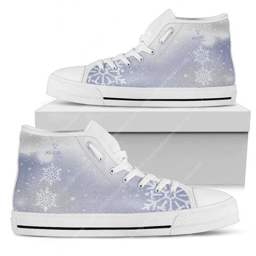Elsa Winter Unisex High Top