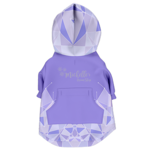 Purple Wall Athletic Dog Hoodie Dog Hoodie