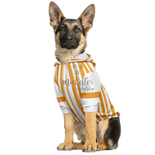 Load image into Gallery viewer, Dapper Dan Goldenrod Dog Zip Up Athletic Hoodie