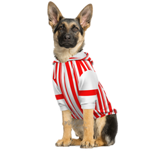 Load image into Gallery viewer, Dapper Dan Red Dog Zip Up Athletic Hoodie