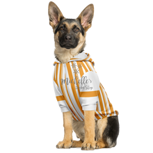 Load image into Gallery viewer, Dapper Dan Goldenrod Dog Zip Up Premium Hoodie