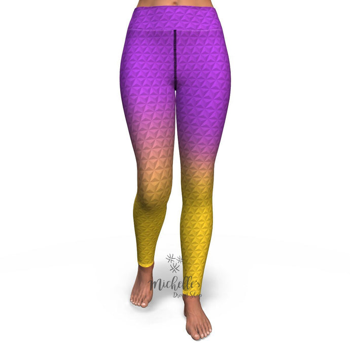 Epcot by Night Yoga Pants