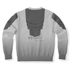 Mandalorian Weapons Are My Religion Silver Athletic Sweatshirt