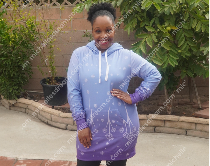 Elsa Winter Athletic Long Hoodie
