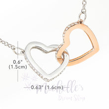 Load image into Gallery viewer, Entwined Hearts Necklace - To My Wife