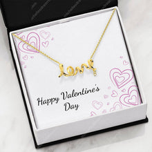 Load image into Gallery viewer, Valentine's Day Love Necklace