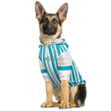 Load image into Gallery viewer, Dapper Dan Blue Dog Zip Up Premium Hoodie