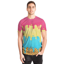 Load image into Gallery viewer, Frozen Treat Ice Cream Designer Tee Shirt (All-Over-Print)