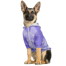 Load image into Gallery viewer, Purple Wall Athletic Dog Hoodie Dog Hoodie