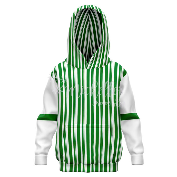Dapper Dan Green Athletic Kids Hoodie