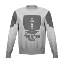 Load image into Gallery viewer, Mandalorian Weapons Are My Religion Silver Premium Sweatshirt