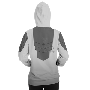 Mandalorian Weapons Are My Religion Silver Athletic Hoodie