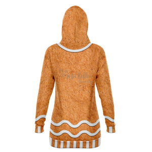 Gingerbread Giant - Athletic Long Hoodie