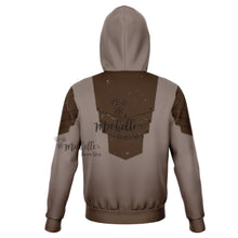 Load image into Gallery viewer, Mandalorian Weapons Are My Religion Brown Athletic Hoodie