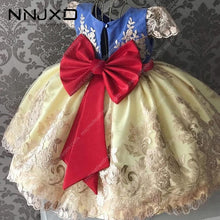 Load image into Gallery viewer, Girl's Elegant Princess Dress