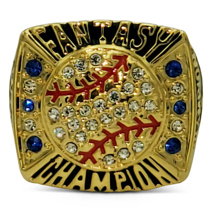 Fantasy Baseball Championship Ring