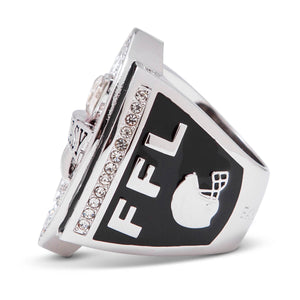The Double Down Fantasy Football Championship Ring