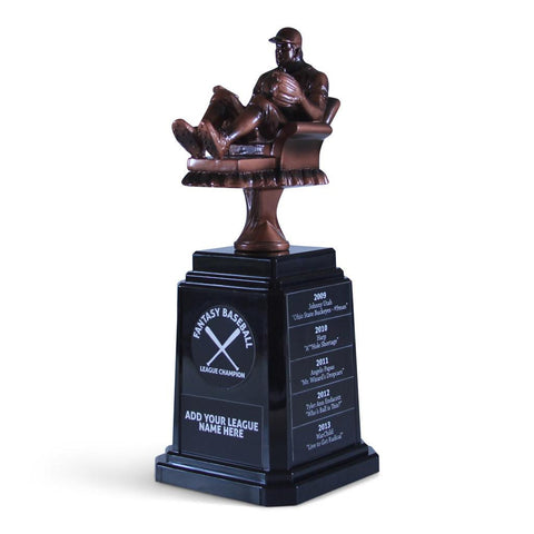 Trophies - Fantasy Baseball Championship Trophy - Armchair